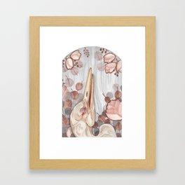 Rose Crane Framed Art Print