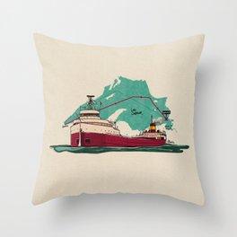 the edmund Throw Pillow