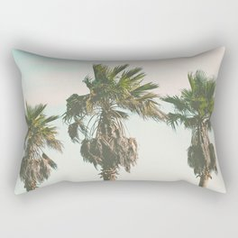 3 Retro Palms Rectangular Pillow