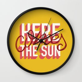 Here comes Wall Clock