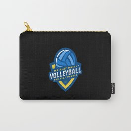 Volleyball - We Play Daily You Play Weak Carry-All Pouch