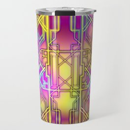 Neon Deco Travel Mug