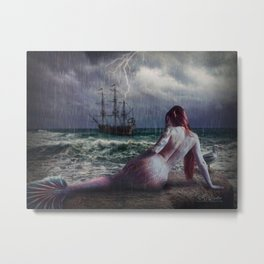 My Jolly Sailor Bold Metal Print