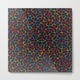 Crystallography Metal Print
