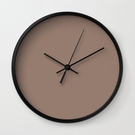 Ginger Snap Wall Clock