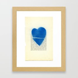 UE1302 (Man Ray Deluxe) - Drawing #1 Framed Art Print