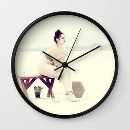 """Bound Desolation"" #3 Wall Clock"