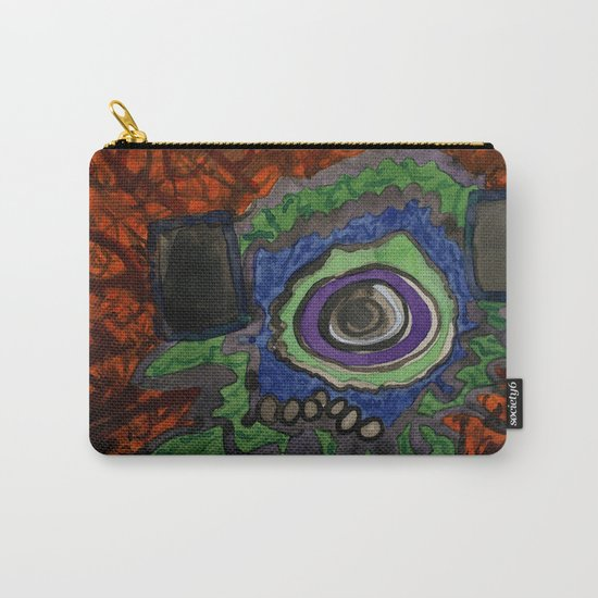 Paradise within blazing Flames Carry-All Pouch