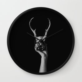 Deer I Wall Clock