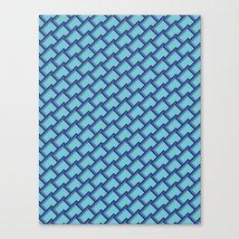 Seamless Blues Canvas Print