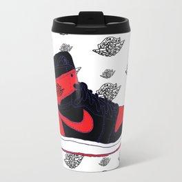 Jordan 1 Banned Travel Mug
