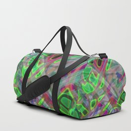 Colorful Abstract Stained Glass G300 Duffle Bag