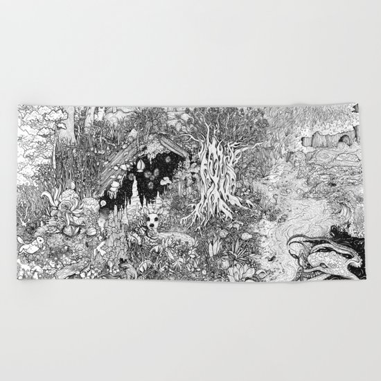 The Big Picture Beach Towel