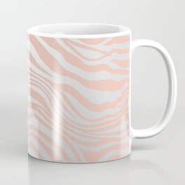 Rose Gold Tiger Stripes Coffee Mug