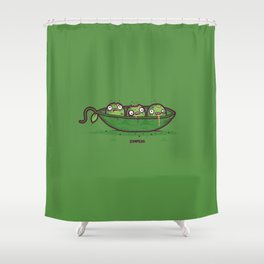 Zompeas Shower Curtain