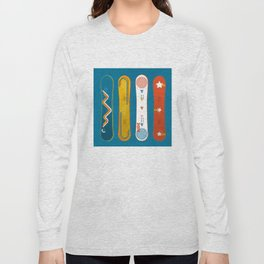 SNOWBOARD DESIGN Long Sleeve T-shirt