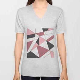 Abstraction . 4 geometric pattern Unisex V-Neck