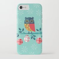 marina and the diamonds iPhone & iPod Cases featuring WOOHOO IT'S CHRISTMAS! by Daisy Beatrice
