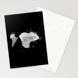 Never cry over spilt milk Stationery Cards