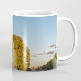 Notre Dame de Paris at Golden Hour Coffee Mug