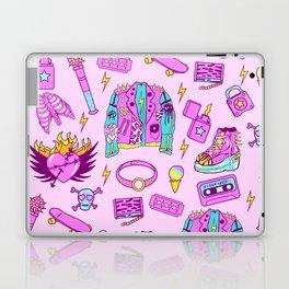 Pink Punk Girly Pattern Laptop & iPad Skin