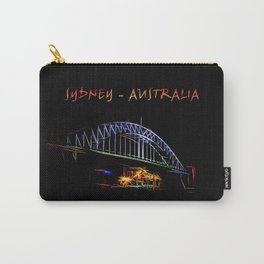 Electrified Sydney Carry-All Pouch