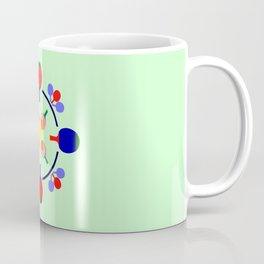 Table Tennis Design Coffee Mug