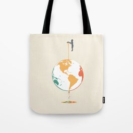 Fill your world with colors Tote Bag