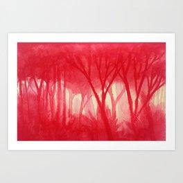 Memory Landscape 14 Art Print