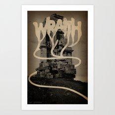 WRAITH - Monument Art Print
