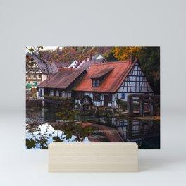 Hammerschmiede am Blautopf Mini Art Print