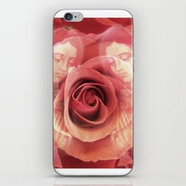 La Virgen de Guadalupe series: Worship of the Rose iPhone Skin