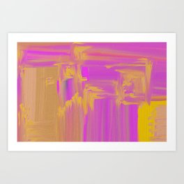 impastel Art Print