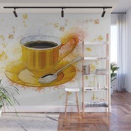 Coffee Art Wall Mural