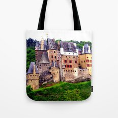 castle eltz, germany. Tote Bag