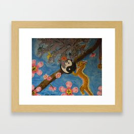 Dragon Painting  Framed Art Print