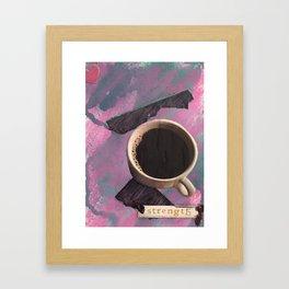 Strength Framed Art Print