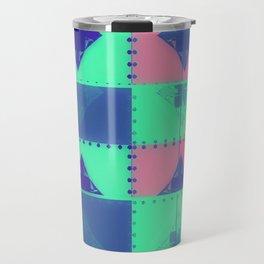 Squares, Quads & Dots in Pastel Colors Travel Mug