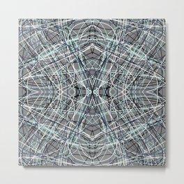 Shades of Gray Gallu Metal Print
