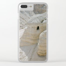 Qumran and the Dead Sea Scrolls - Holy Land Fine Art Film Photography Clear iPhone Case