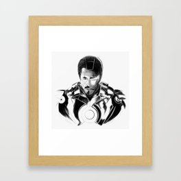 I Love You 3000 Framed Art Print