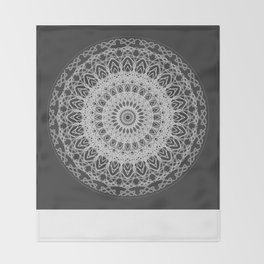 Mandala blast Throw Blanket