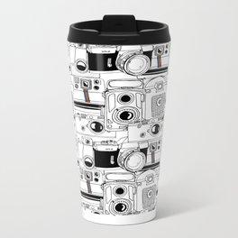 Vintage Cameras Metal Travel Mug