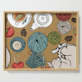 home cosiness Serving Tray