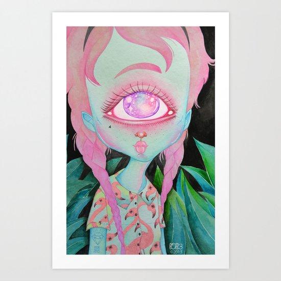 Postcard from Venus Art Print