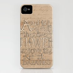 A Flower Breathes Slim Case iPhone (4, 4s)