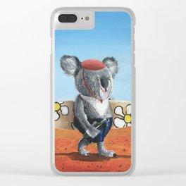 Goin Surfin Clear iPhone Case