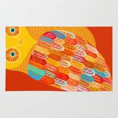 Terracotta Owl Rug