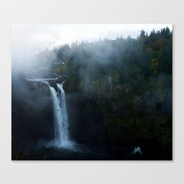 Spooky Snoqualmie Canvas Print