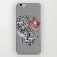 wizard iPhone & iPod Skins featuring Wizard by 2mzdesign